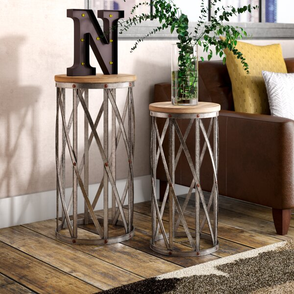 Hollier 2 Piece End Table Set by Trent Austin Design