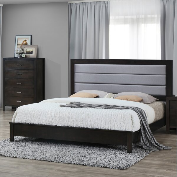 Upholstered Standard Bed by Best Quality Furniture