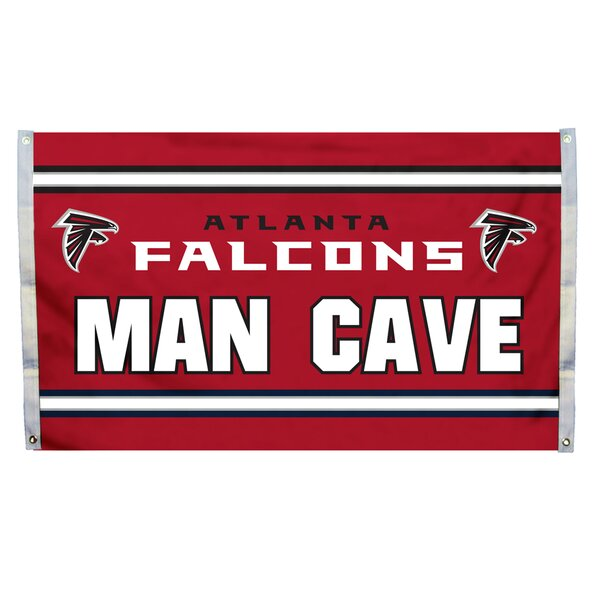 NFL Man Cave Polyester 3 X 5 ft. Flag by Team Pro-Mark