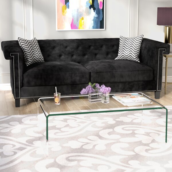 Latest Style Grosvenor Chesterfield Sofa by Willa Arlo Interiors by Willa Arlo Interiors