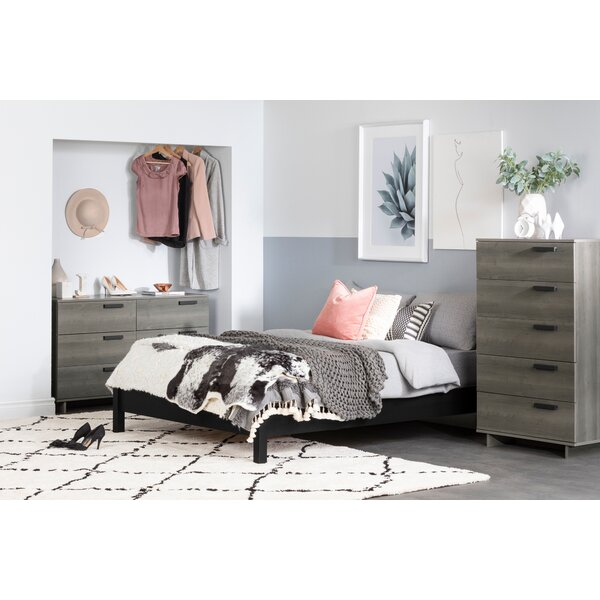 New Cavalleri Platform Configurable Bedroom Set By South Shore Herry Up