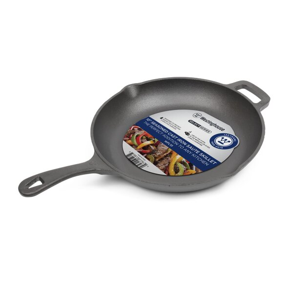 Cast Iron 10 Non-Stick Frying Pan by Westinghouse