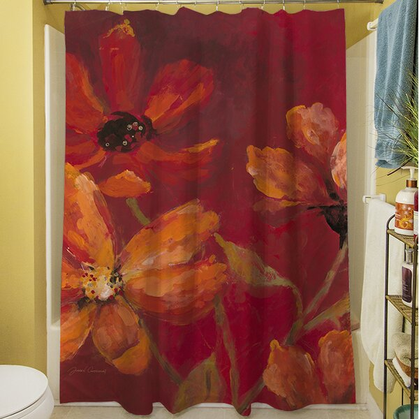 Larchmont Shower Curtain by Red Barrel Studio