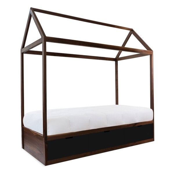 Domo Zen Canopy Bed with Drawers by Nico and Yeye