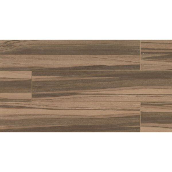 Nantucket 8 x 36 Porcelain Wood Tile in Caramel by Grayson Martin