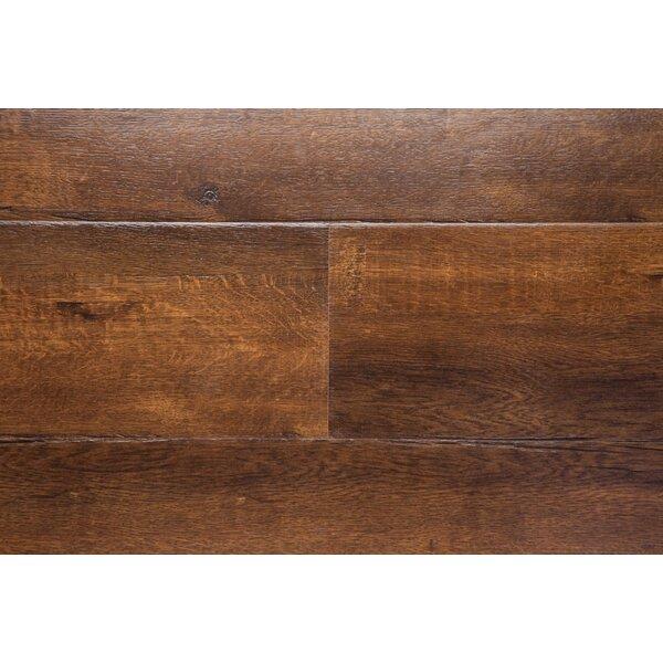 Havana 7.5 x 48 x 12mm Oak Laminate Flooring in Brown by Chic Rugz