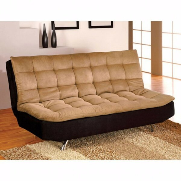 Heggins Microfiber Convertible Sofa by Latitude Run