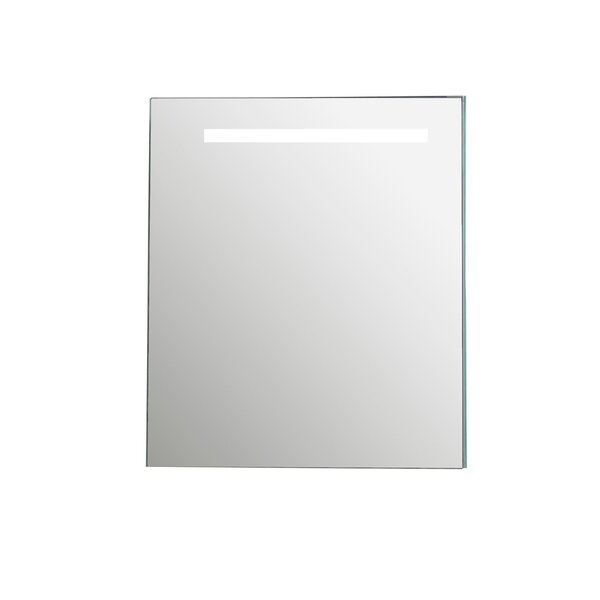 Imani 32.6 x 27.6 Surface Mount Medicine Cabinet with LED Lighting by Rebrilliant