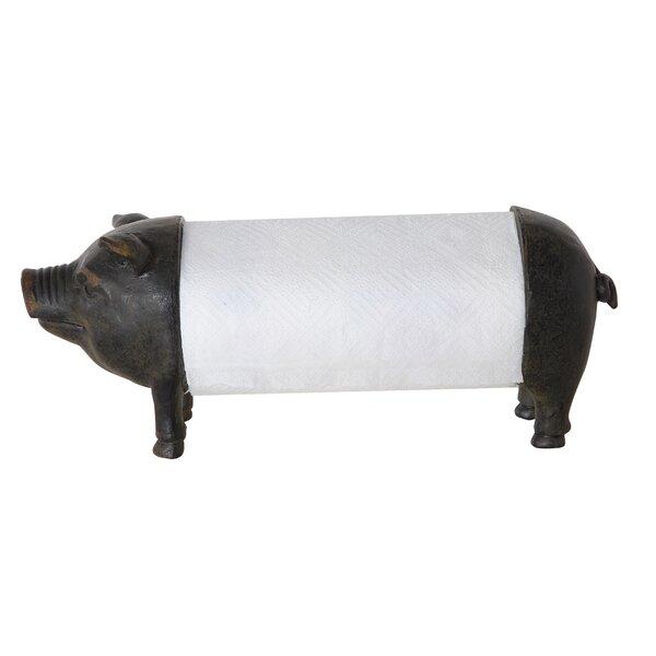 Pig Paper Towel Holder by Birch Lane™