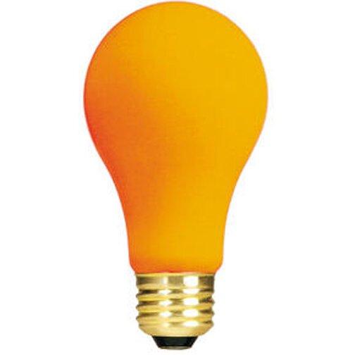 Orange (2700K) Incandescent Light Bulb (Pack of 12) (Set of 2) by Bulbrite Industries