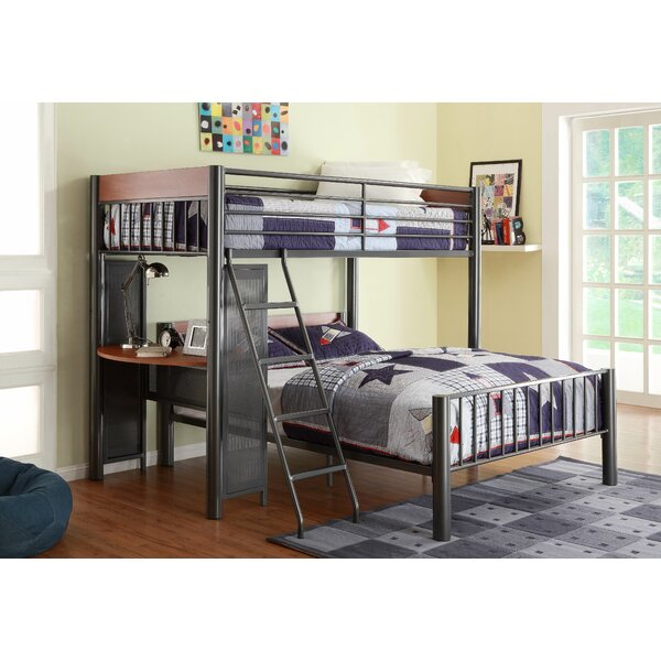 TwylaTwin Over Full L-Shaped Bunk Bed by Harriet Bee