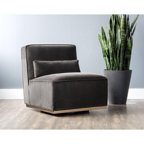 Caledon Swivel Slipper Chair by Sunpan Modern