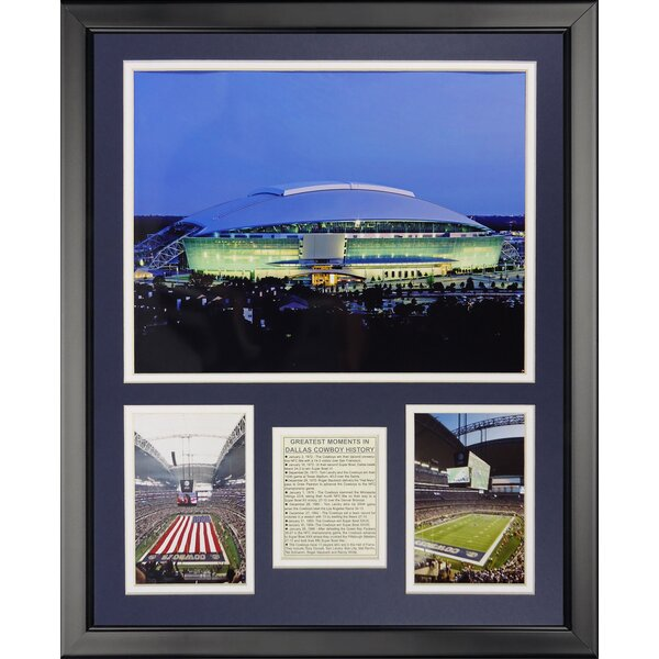 NFL Dallas Cowboys - New Texas Stadium Framed Memorabili by Legends Never Die