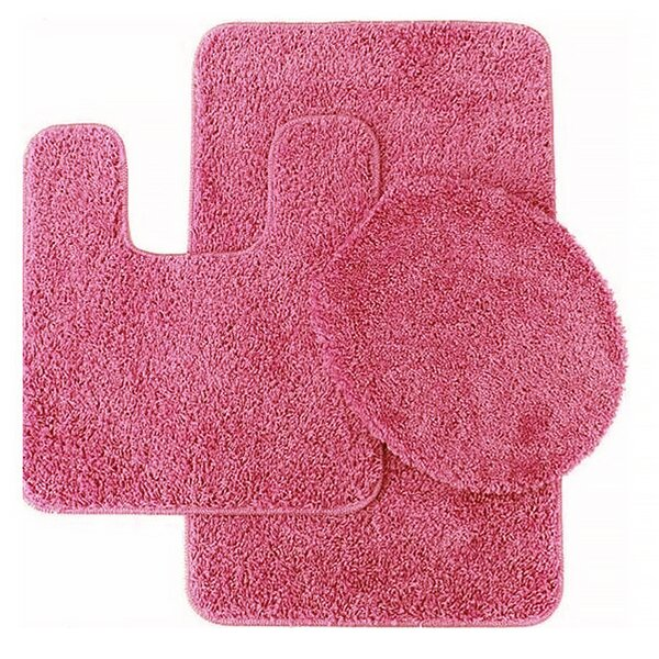 Florence 3 Piece Bath Rug Set by Sweet Home Collection