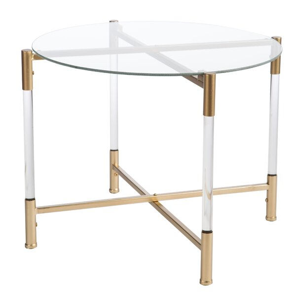 Robson Acrylic End Table by Mercer41