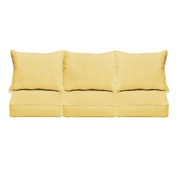 Indoor/Outdoor Sofa Cushion by Bay Isle Home