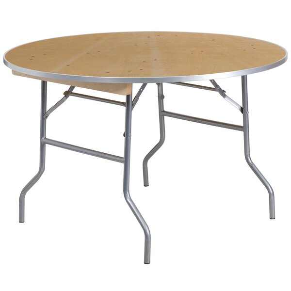 Round Folding Table by Flash Furniture