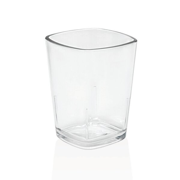 Louanne Rock Glass Plastic (Set of 4) by Mint Pantry