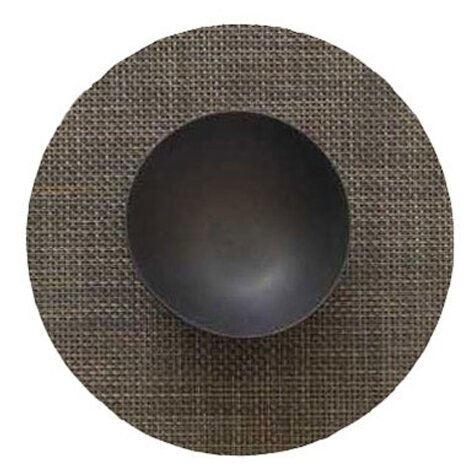 Basketweave Round Placemat by Chilewich