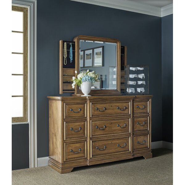 9 Drawer Dresser with Mirror by Universal Furniture