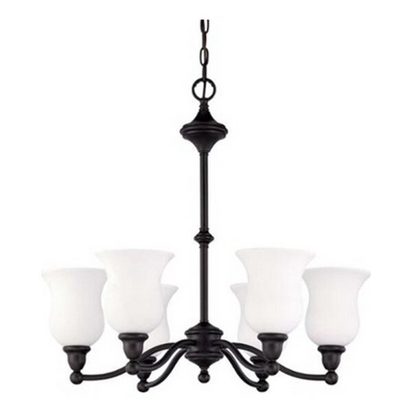Mose 6-Light Shaded Chandelier by Canora Grey