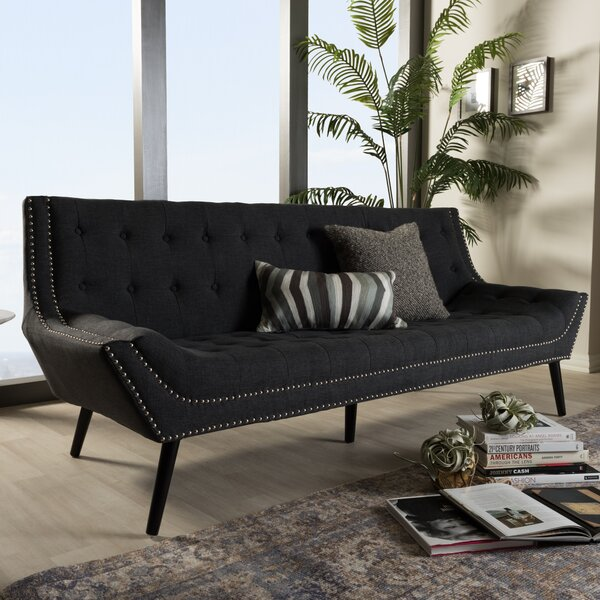 Spicer Tufted Sofa by Ebern Designs