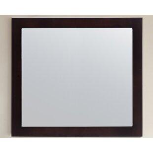 Best Reviews Markes Fully Framed 36 Bathroom/Vanity Mirror ByRed Barrel Studio