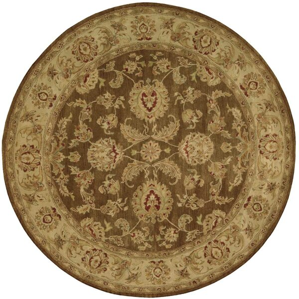 Delaware Hand-Tufted Brown Area Rug by Darby Home Co