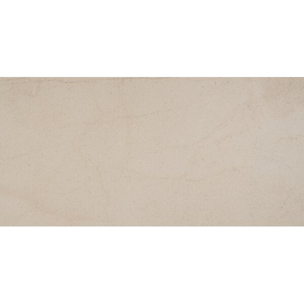 Livingstyle 18x 36 Porcelain Tile in Cream by MSI