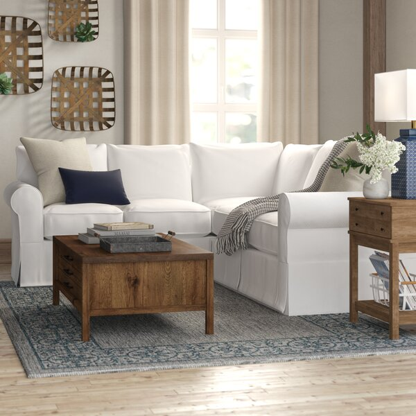 Great Deals Jameson Slipcovered Symmetrical Sectional