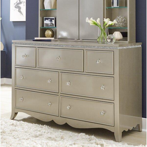 Burchfield 7 Double Drawer Dresser by House of Hampton