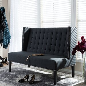 Aldford Upholstered Bench by Darby Home Co