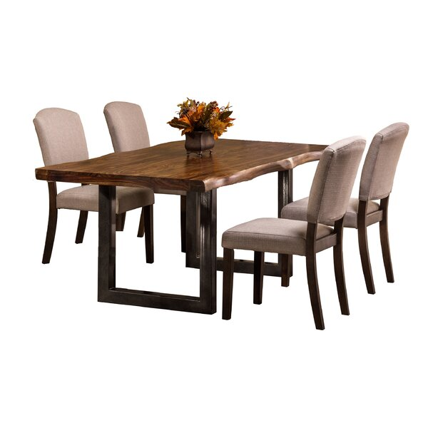 Linde 5 Piece Dining Set by Brayden Studio