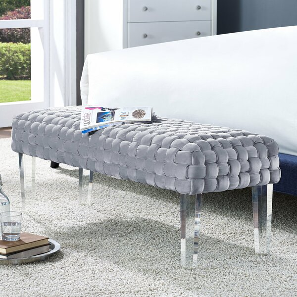 Branca Upholstered Bench by Willa Arlo Interiors Willa Arlo Interiors