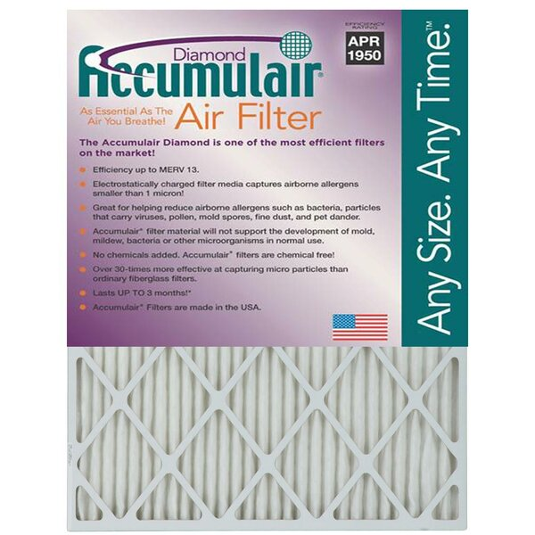 Furance Air FIlter (Set of 4) by Accumulair
