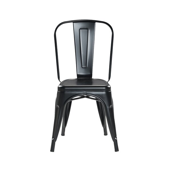Crediton Stacking Patio Dining Chair (Set of 4) by 17 Stories