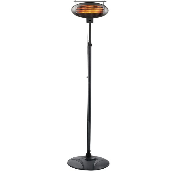 Freestanding 1500 Watts Electric Standing Patio Heater By AZ Patio Heaters
