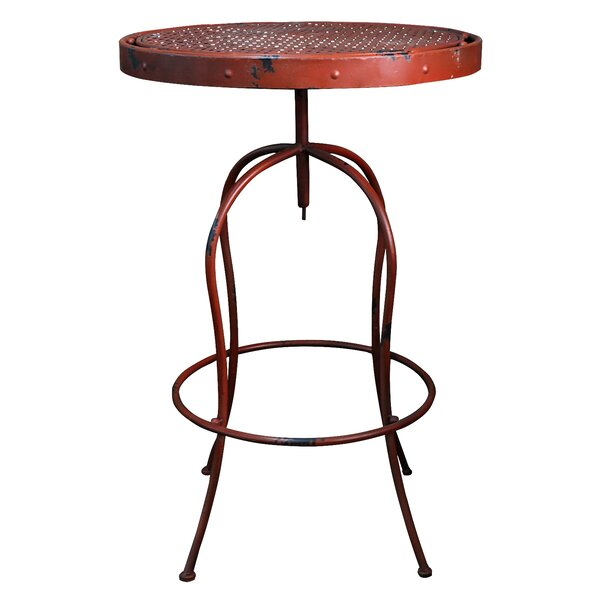 Valeria Metal Bistro Table by Williston Forge
