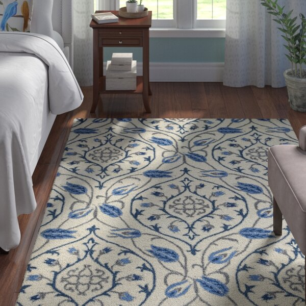 Hurst Hand-Tufted Ivory Area Rug by Andover Mills