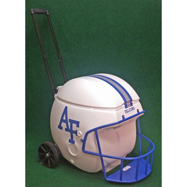 40 Qt. Air Force Academy Football Helmet Rolling Cooler by Coolr Coolrz