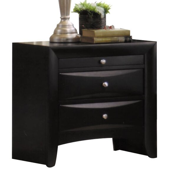 Belfort 3 Drawer Nightstand by Latitude Run