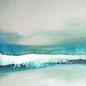 Wave Study' by AX Painting on Wrapped Canvas by Art Excuse