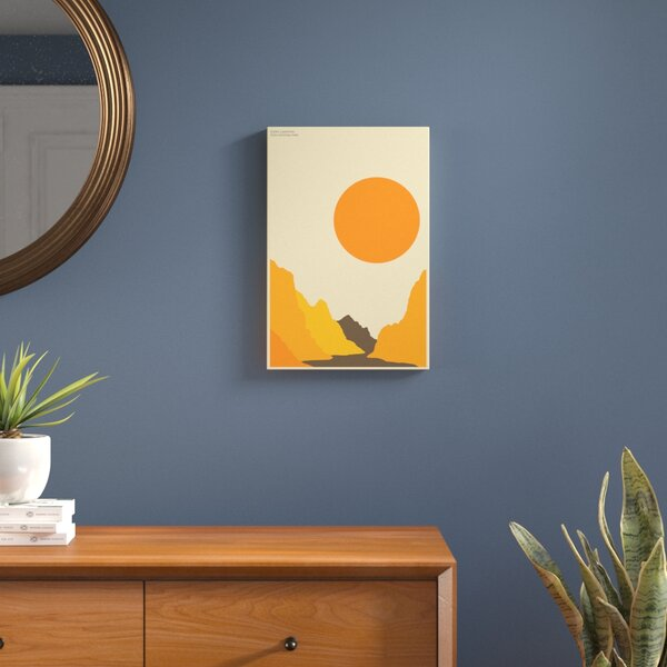 Zion Graphic Art on Wrapped Canvas by Langley Street