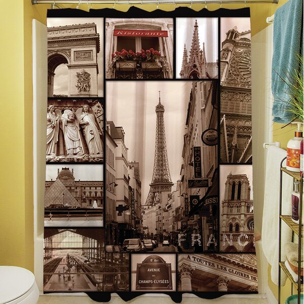 France Duvet Shower Curtain by Manual Woodworkers & Weavers