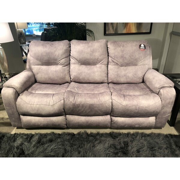 Excellent Brands Royal Flush Reclining Sofa by Southern Motion by Southern Motion