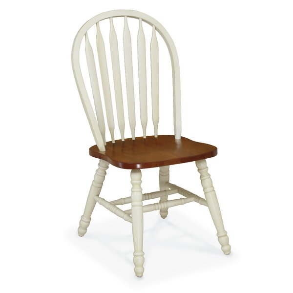Goodhill Solid Wood Windsor Back Side Chair (Set Of 2) By Gracie Oaks