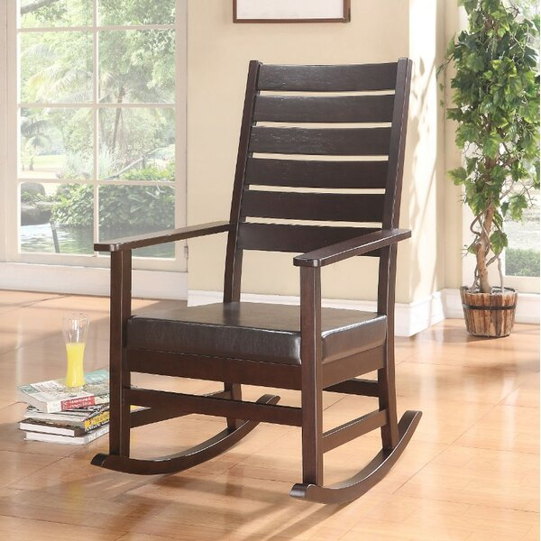 Weidner Rocking Chair by Millwood Pines