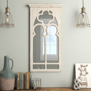 Ophelia & Co. Kincheloe Arch Framed Wall Mirror