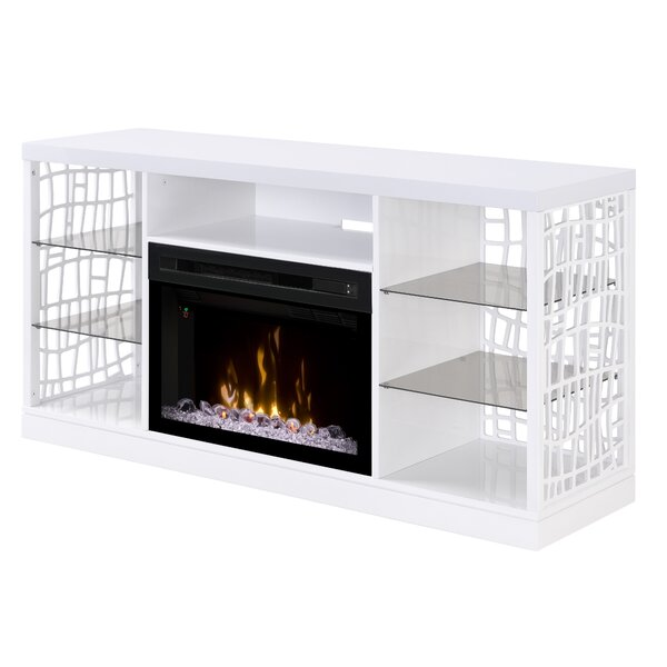 Charlotte 60 TV Stand with Fireplace by Dimplex
