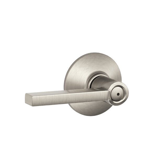 Latitude Lever Bed and Bath Lock by Schlage